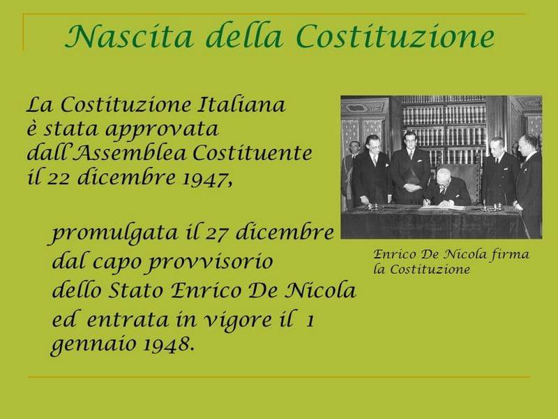 L anpi di aprilia ricorda la nascita della costituzione for Repubblica italiana nascita
