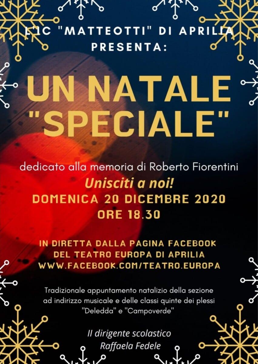 Aprilia - Un Natale speciale con l'istituto comprensivo Giacomo Matteotti